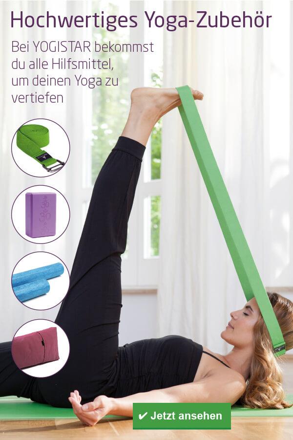 Hochwertiges Zubehör, um deine Yogapraxis zu vertiefen