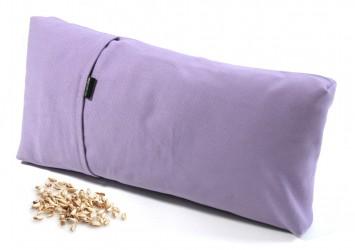 TriYoga cushion, small spelt husk/lilac