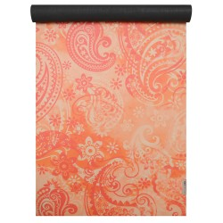 paisley orange-red