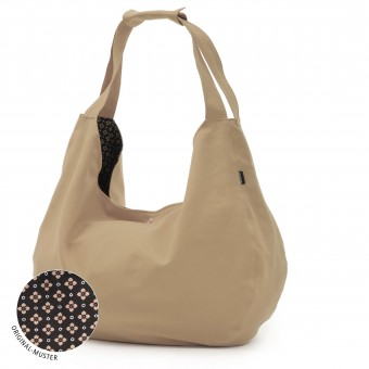 Yoga carrybag active - maxi big - cotton sand