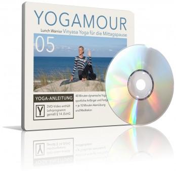 Lunch Warrior - Vinyasa Yoga für die Mittagspause (DVD) von YOGAMOUR