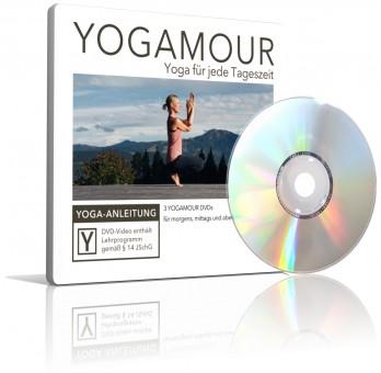 3er DVD-Set: Yoga für jede Tageszeit von YOGAMOUR