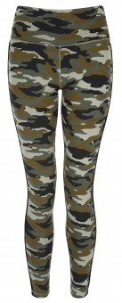 """Yoga-Leggings """"Flow with it"""" - camouflage"""