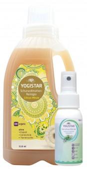 Gratis Bio Wollwaschmittel (Bio Schurwollmatten-Reiniger - Citrus-Minze - 510 ml) + Bio Yogawear-Geruchsentferner (natural refresh - rosemary - 50 ml