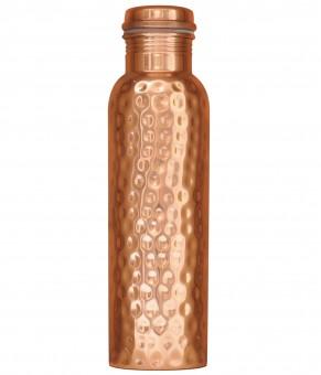 Kupferflasche gehämmert, 0,9 l