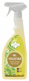Bio Yogamatten-Reiniger - fresh green lime - 500 ml