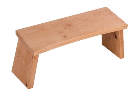 Meditation stool - alderwood classic
