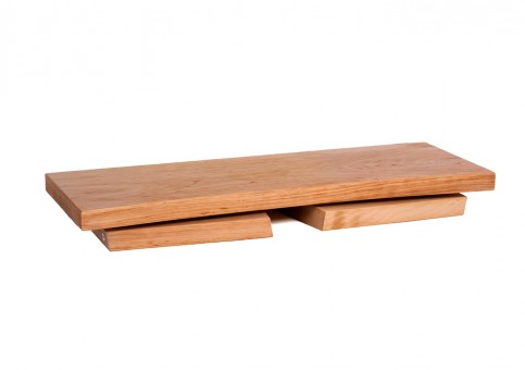 Meditation stool - alderwood nature folding