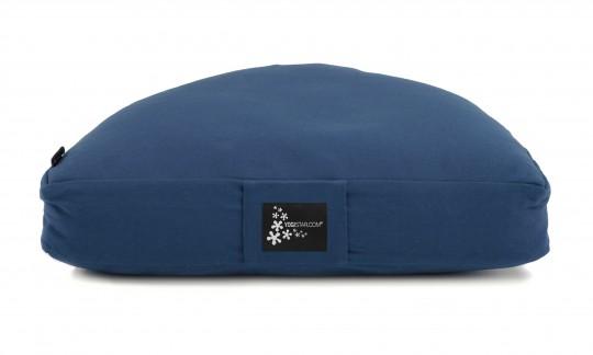 Meditationskissen - Halbmond dark blue