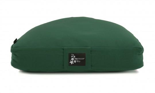 Meditationskissen - Halbmond green