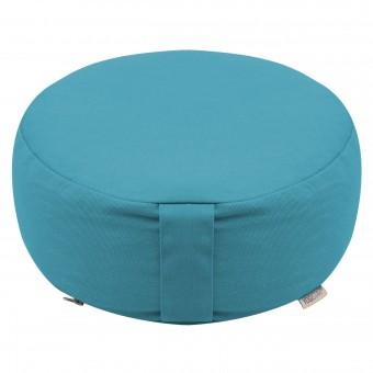 Meditation cushion - round - Dhyana petrol