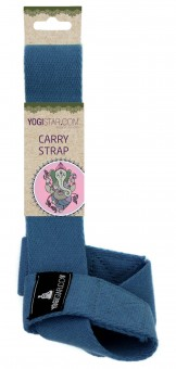 Yogatrageband carry strap navy blue