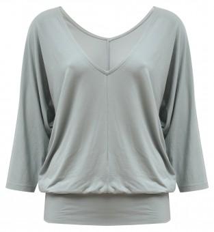 """Yogi Long Shirt """"Saravati"""" – grey-green"""