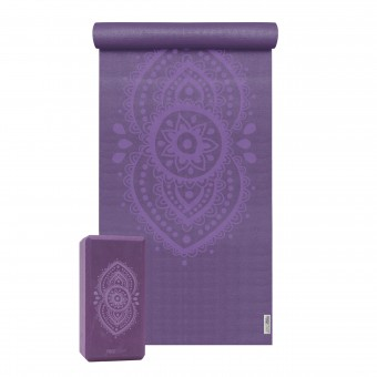 Yoga-Set Starter Edition - ajna chakra (Yogamatte + 1 Yogablock)