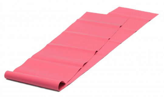 Pilates Stretchband - latexfrei Red - Soft