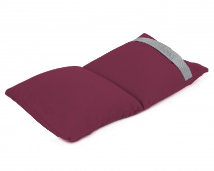 Yoga-Sandsack balanced bordeaux