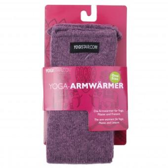 Yoga-Armwärmer elderberry - Wolle