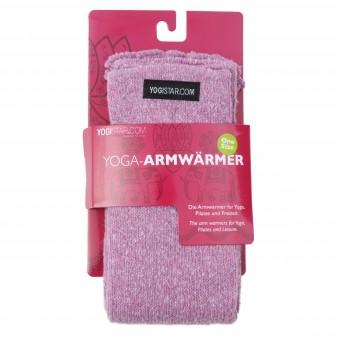 Yoga-Armwärmer rose - Baumwolle
