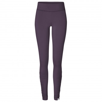"Yoga-Leggings rolldown ""ala"" - elderberry M"