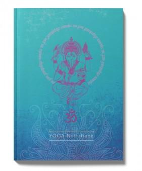 Yoga-Notizbuch Ganesha