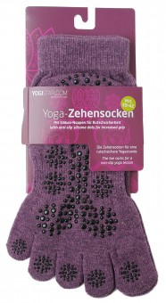 Yoga-Zehensocken - elderberry 39 - 42