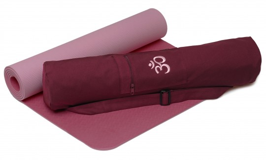 Yoga-Set Starter Edition - comfort (Yoga mat pro + yoga bag)