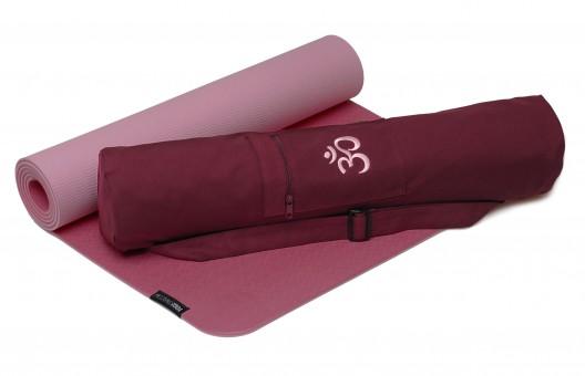 Nylon Bordeaux Yogistar Yogatasche Basic Logo 65 cm
