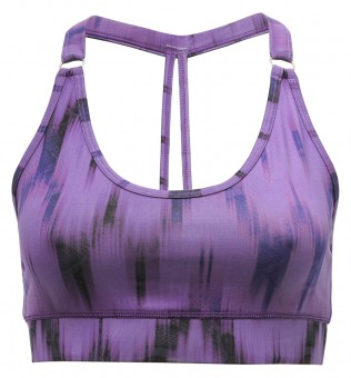 "Yoga-Bra ""Shiva"" - Ikat purple L"