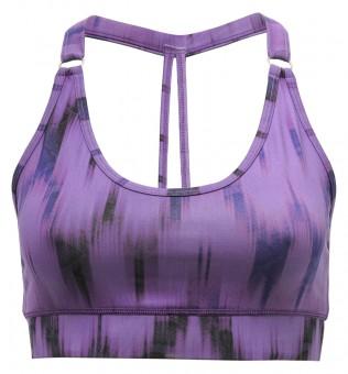 """Yoga-Bra """"Shiva"""" - Ikat purple S"""