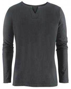 "Yoga-Shirt ""Pero"" - men - charcoal"