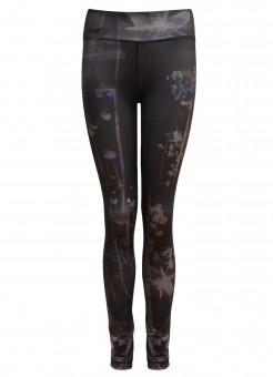 "Yoga-Leggings ""Panarea"" - everglades M"