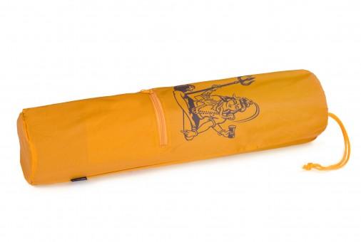 Yogatasche yogibag® basic - nylon - art collection - 65 cm shiva - safran