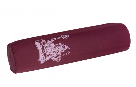 Yogatasche yogibag® basic - nylon - art collection - 65 cm shiva - bordeaux