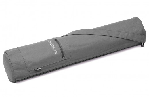 Yogatasche yogibag® basic - zip - cotton - 65 cm anthracite