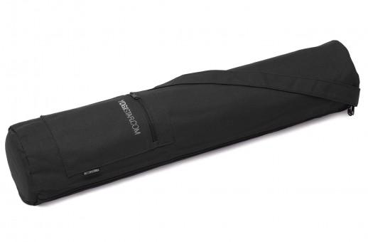 Yoga bag yogibag® basic - zip - cotton - 65 cm black