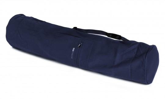 Yogatasche yogibag® basic - zip - extra big - cotton - 109 cm navy