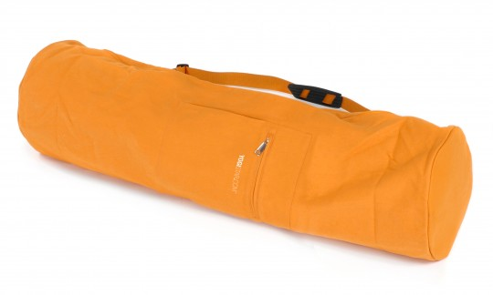 Yoga carrybag yogibag cotton - 75 cm safran