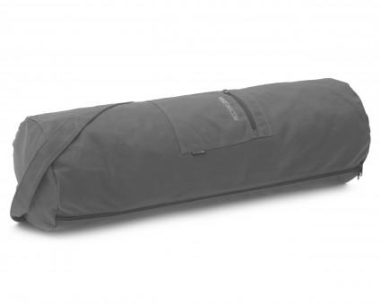 Yogatasche yogibag® basic - zip - cotton - big plus - 73 cm anthracite