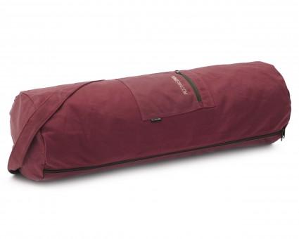Yogatasche yogibag® basic - zip - cotton - big plus - 73 cm bordeaux