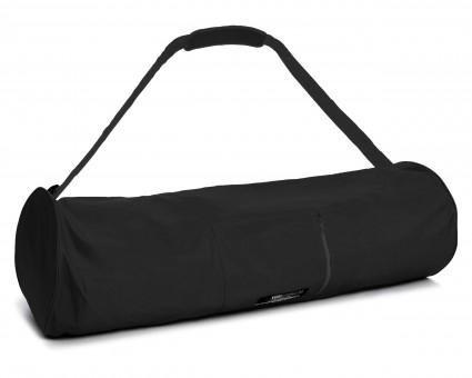 Yogatasche yogibag® basic - zip - extra big - nylon - 80 cm black