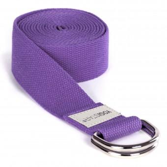 Yogagurt yogibelt® medium - M 260cm violet MD