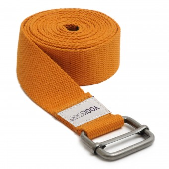 Yoga belt 'yogibelt' 260D orange