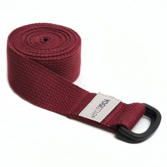 Yoga belt 'yogibelt' 260P bordeaux