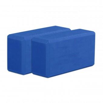 Yogablock yogiblock® basic - 2er-Set blau