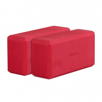 Yogablock - yogiblock basic Set of 2 red