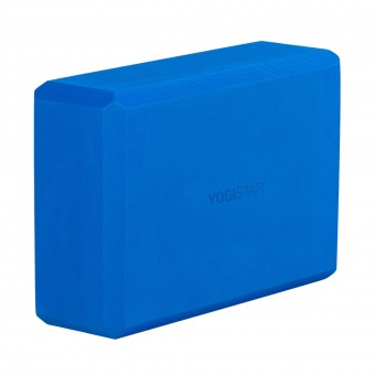Yoga block - yogiblock 'Big' blue