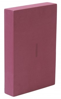 Yoga block - yogiblock 'Flat' bordeaux