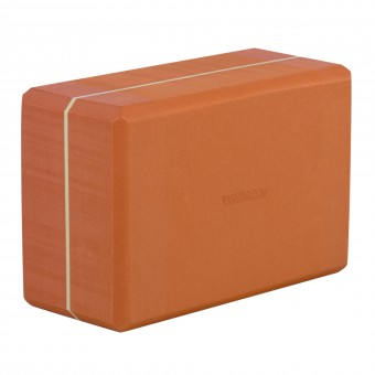 Yoga block - yogiblock 'super size' terracotta