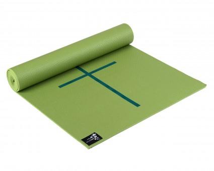 Yogamatte yogimat® plus - alignment kiwi