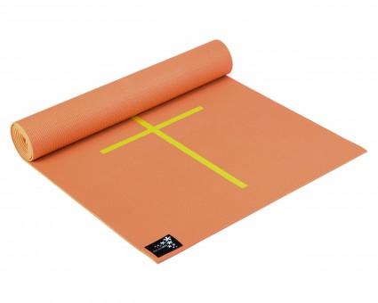 Yogamatte yogimat® plus - alignment mango